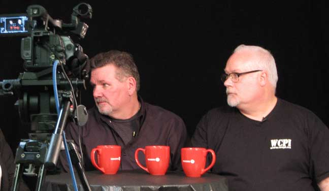 Bruce & Joe on camera
